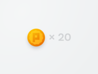 Coinage logo illustration vector interface button icon design app identity