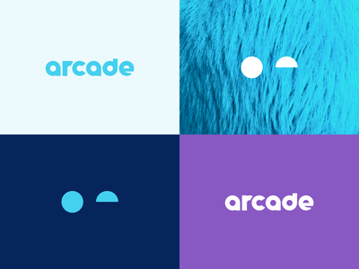 Primary/Secondary geometric responsive secondary mascot furry wink chunky brand typography design branding identity logo