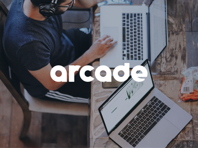 Arcade undertree wink lifestyle employee photo usage symbol logomark brand development typography icon design branding identity logo