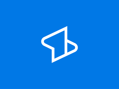 Super symbol graphic design collateral vector shape blue symbol mark design identity branding logo