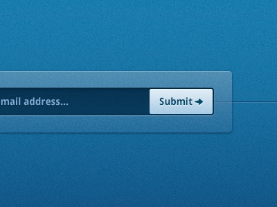 mail address... ui text input search field submit arrow icon layout blue teaser