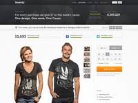 Sevenly Homepage