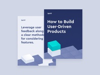 User-Driven Products (PDF) pdf linkedin layout print 3d blocks halftone design typography vector illustration