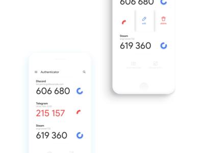 Google Authenticator Redesign