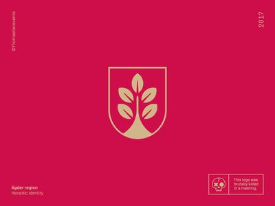 Agder heraldic shield