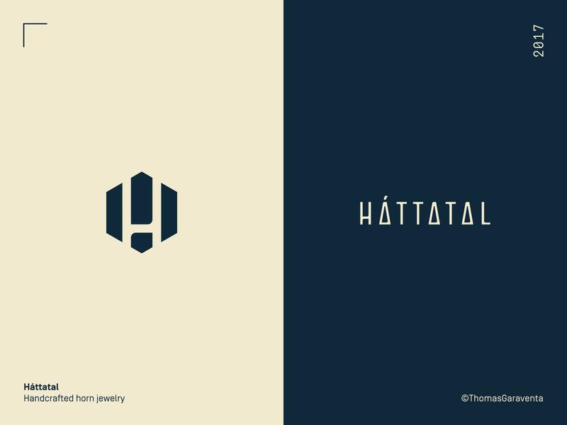 Mark and Logotype - Háttatal logo design symbol logotype typography icon scandinavian minimal graphic design vector logo mark branding