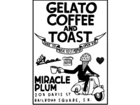 Gelato Coffee and Toast