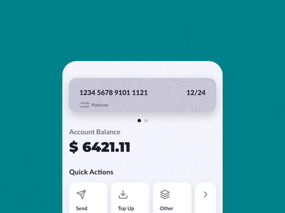 Shake to Pay paralax interaction animation design aftereffects income transaction history transactions banking app shake transfer money ui interaction figma animation