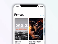 Audio book app