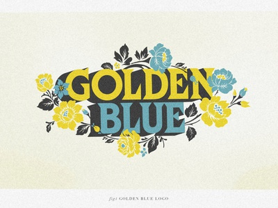 Golden Blue Logo