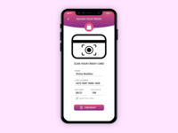 Iphone X Credit Card Checkout Page
