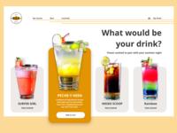E Commerce Cocktail Order Platform