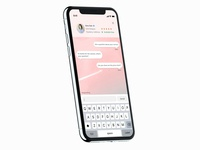 iPhone X Direct Messaging