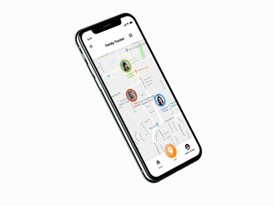 iPhone X Location Tracker