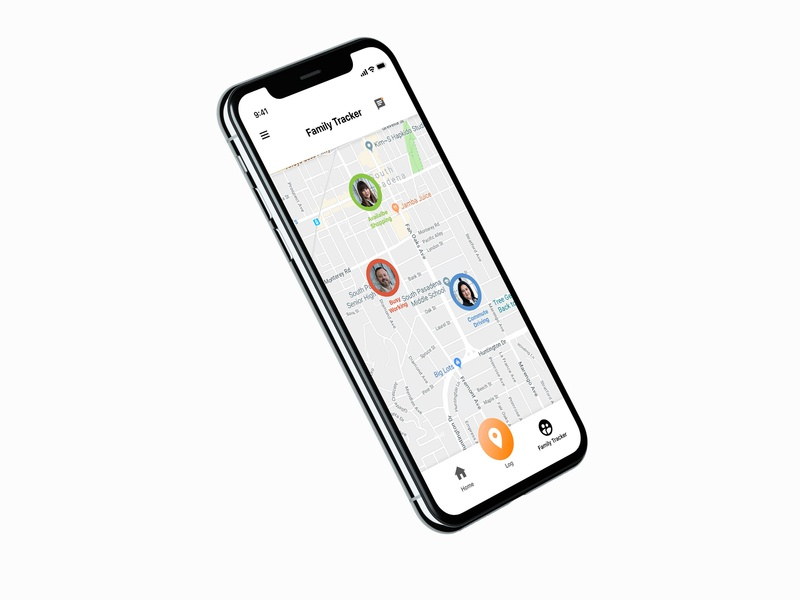 iphone X tracker app