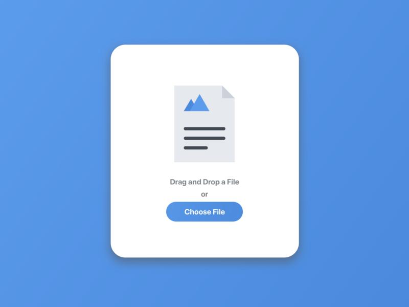 Desktop File Upload file upload website web sketch minimal app dailyui ui ux illustration design
