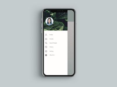 iPhone X Header Navigation