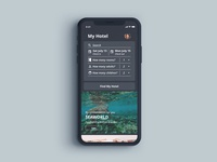 iPhone X Hotel Booking