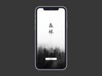 iPhone X Splash Screen