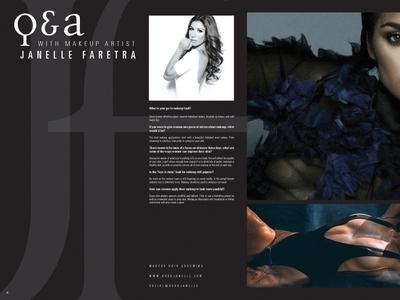 Lionesse Magazine Spread