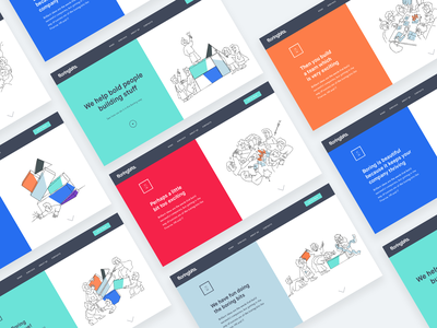 Homepage Onboarding Story uiux onboarding ui splash productpage salespage hr people finance devops landingpage landing lander interface interaction illustration homepage onboaring storyboard storytelling story