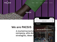 PACSIS Homepage Redesign