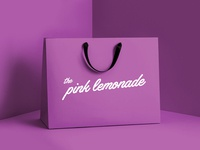 The Pink Lemonade - Branding