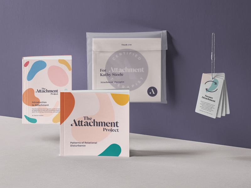 Packaging Exploration for Attachment Project psychology wellness startup start up organic illustraion pattern nyc logo brand identity brand design brand branding package design packaging package cover design book cover booklet book
