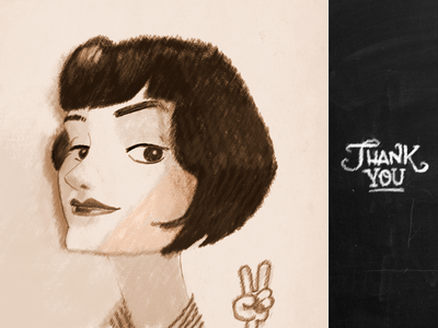 Vintage Wife vintage cartoon character charicature portrait sepia 20´s 30´s flapper
