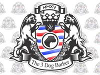 3 dog barber