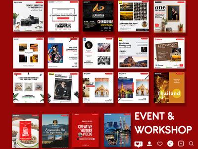 Event & Workshop Instagram Feed
