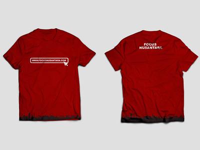 Mockup T-shirt @focusnusantara