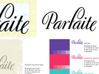 Branding Development for Parfaite, iPad Wedding Magazine