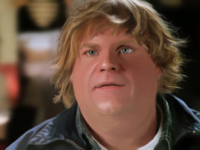 Chris Farley portrait