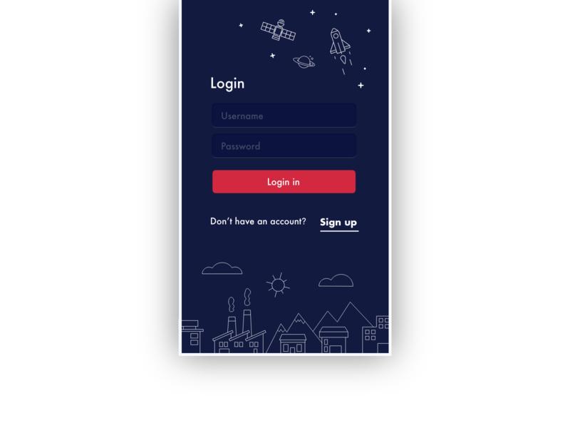 Mobile Login Concept