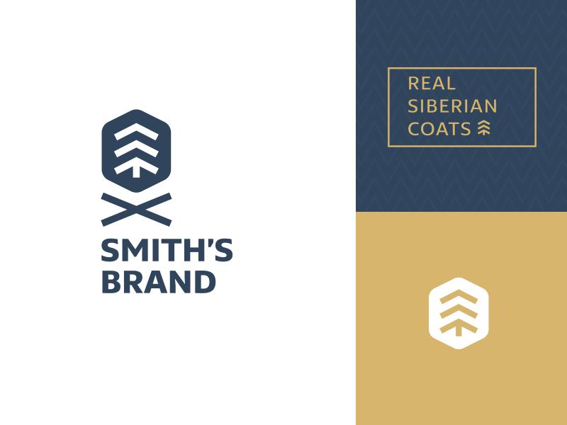 Smith's Brand smiths logotype logo fir forest coats siberian siberia
