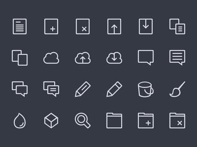 Icon Set WIP