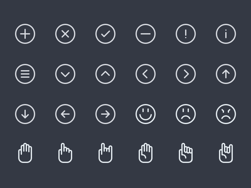 Line icons preview  batch  3