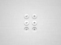 Vector UI Buttons (PSD)