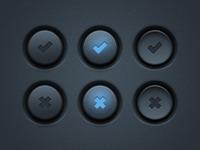 UI Buttons (PSD)