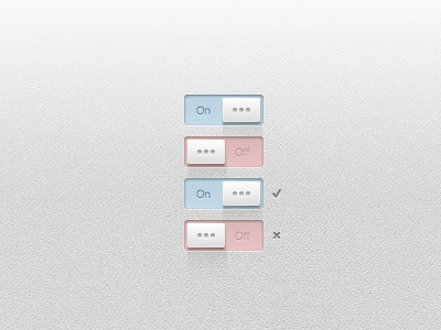 Light GUI Switches vector ui toggle tick switch psd photoshop on off layered iphone ipad gui cross cms free freebie resource light ux web element clean web app
