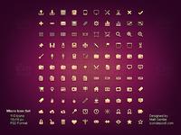 Micro icon set preview
