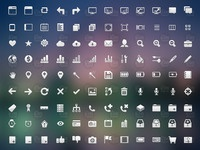 Crisp icon set   preview   48x48