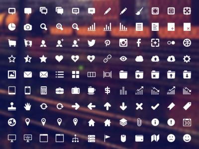 Developer Icon Set (preview before release) icon icons ui photoshop psd vector social twitter instagram facebook pinterest flickr dribbble developer app csh 16x16 32x32 64x64 48x48 custom shape shapes set png user interface google plus creativemarket