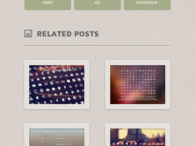 Single Blog Post Page simple psd photoshop creativemarket website personal blog client site love.ly