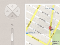 Google Map UI - Finished Contact page