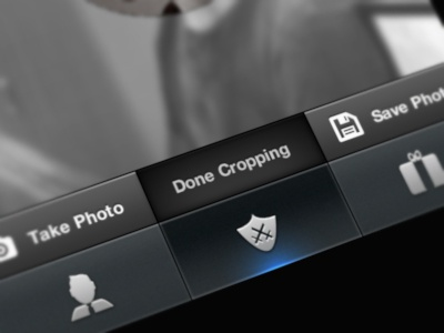Photo Crop icons interface toolbar user photo crop cropping playbucks