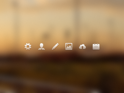 44x44 Icons 22x22 icons 44x44 icon settings profile edit posts upload notifications