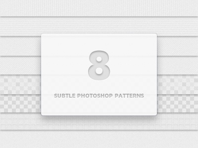 8 subtle photoshop patterns preview