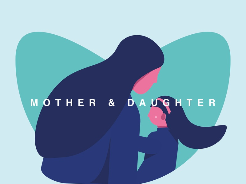moms love ❤️ ui branding illustration graphic minimalist design minimal